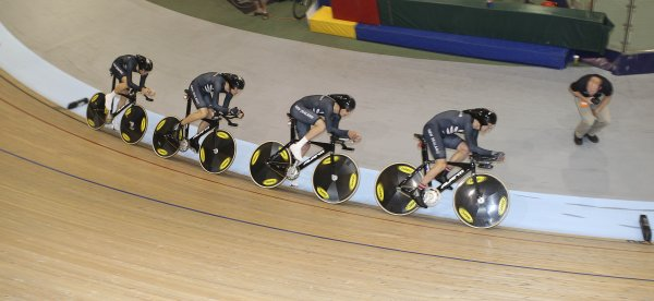 NZ Team pursuit record NZ Nationals 2009